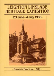 Leighton Linslade Heritage Exhibition: 23 June - 4 July 1986
