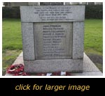 Heath & Reach War Memorial - Inscription 1