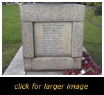 Heath & Reach War Memorial - Inscription 2